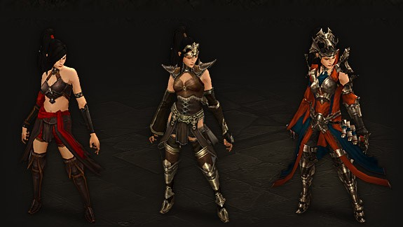 Diablo 3 armor progression
