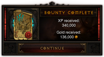 Bounty Reward