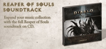 Reaper of Souls Soundtrack