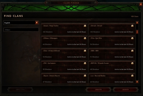 Diablo 3 - Joining a Clan